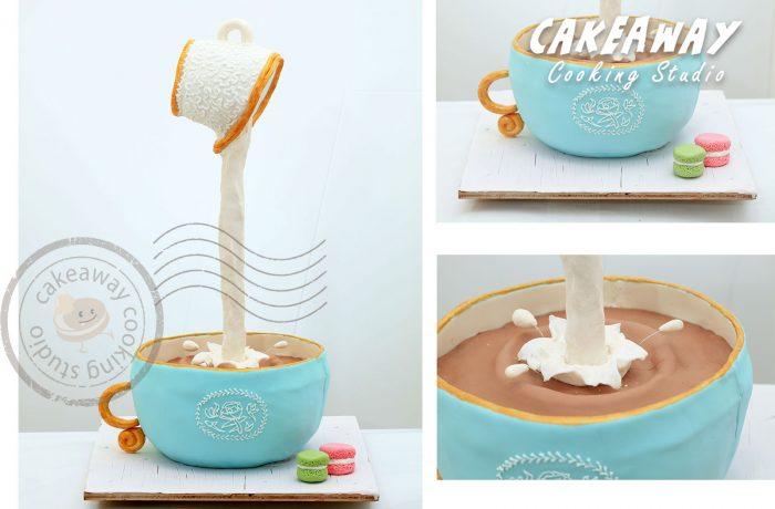 奶茶(Gravity Cake)