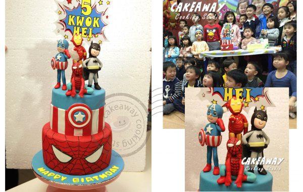 英雄蛋糕 (兩層)