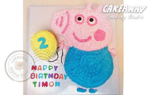 George Pig 與氣球
