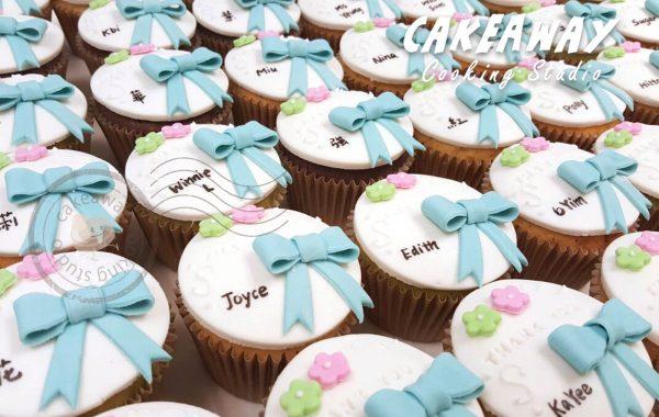 散水Cupcake (蝴蝶結款)