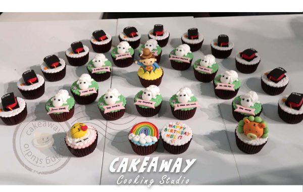 自訂裝飾Cupcake (聖經類)