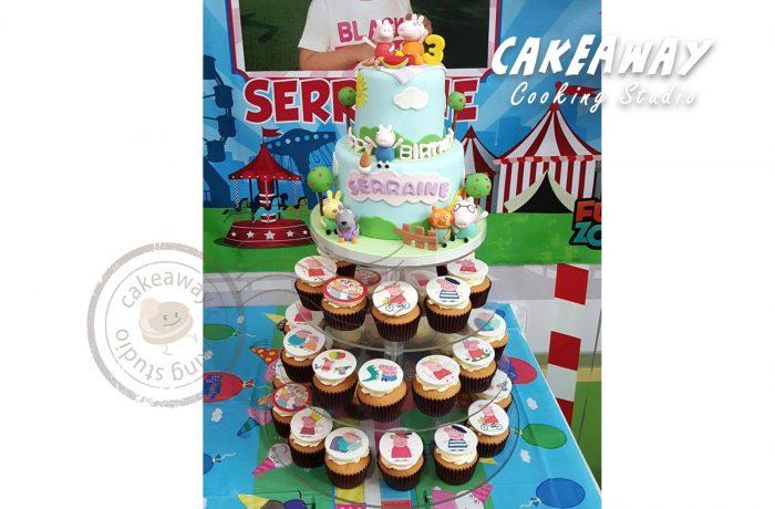 Peppa Pig 蛋糕連Cupcake