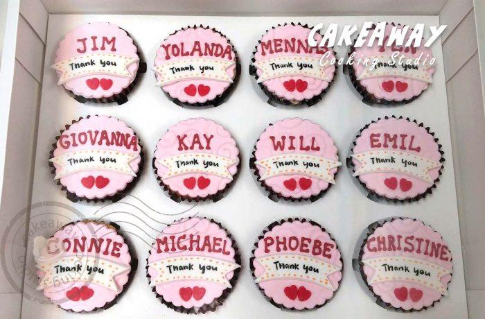 散水Cupcake(粉紅)