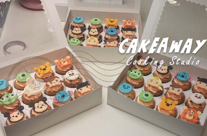 自訂裝飾Cupcake (動物類)