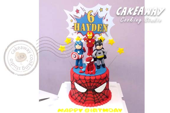英雄蛋糕(單層)