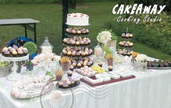 婚宴甜品桌 / Dessert Table