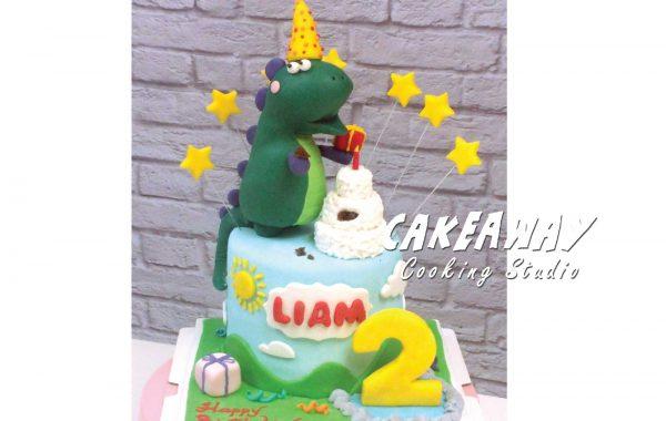 小恐龍生日會