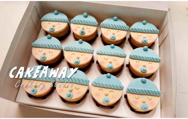 百日宴BB Cupcake