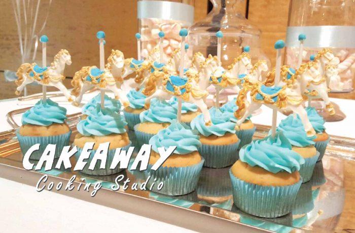 木馬Cupcake(藍)