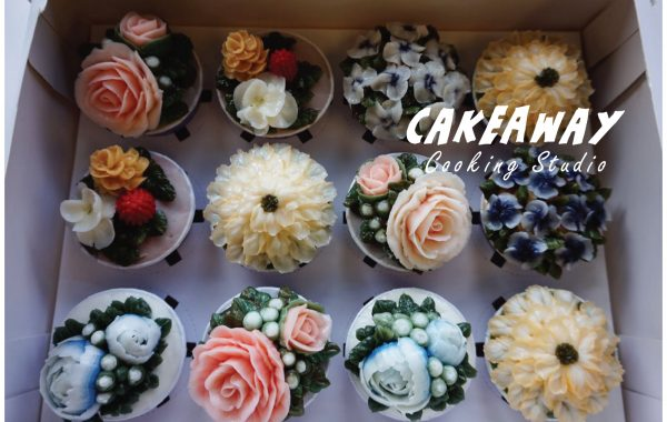 繁花盛放Cupcake