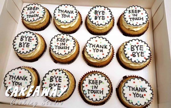 THANK YOU / BYE BYE Cupcake