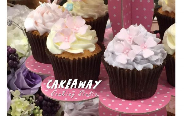 繡球花Cupcake