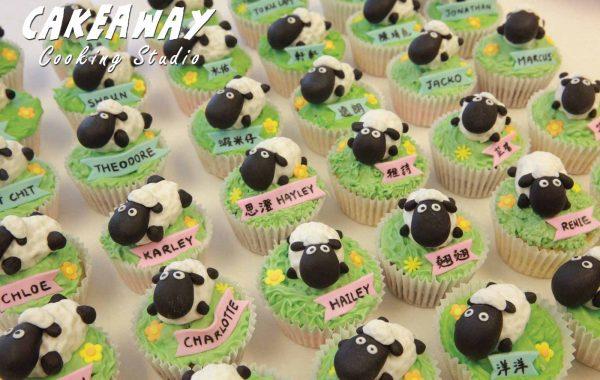 羊仔Cupcake