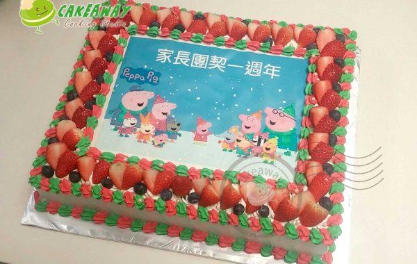 食用打印卡通蛋糕