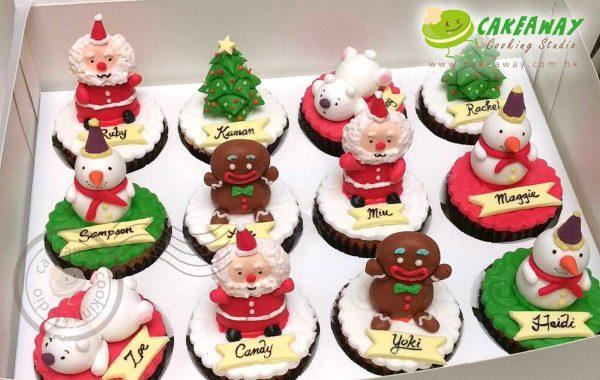聖誕主題Cupcake