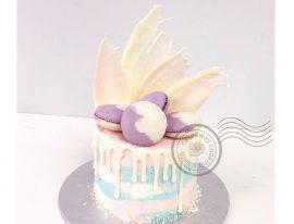 cake with macaron-01