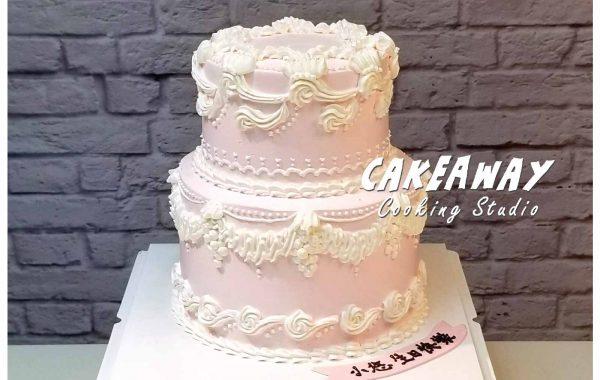 經典唧花蛋糕