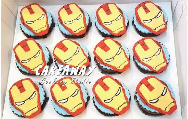 Iron Man Cupcake