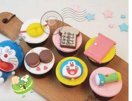 Doramon Cupcake-01