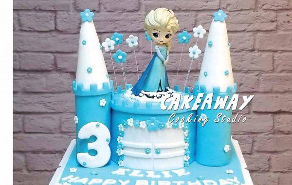公主城堡蛋糕