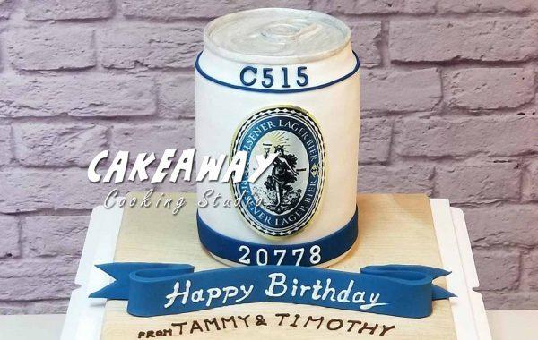 藍妹啤酒罐蛋糕