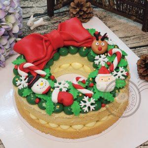 Xmas Cake 2018-01