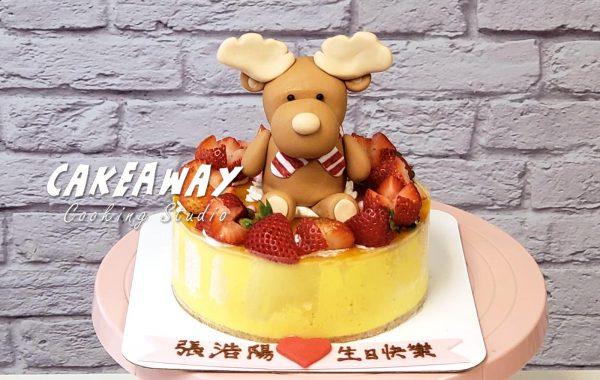 小鹿(芒果慕士蛋糕)