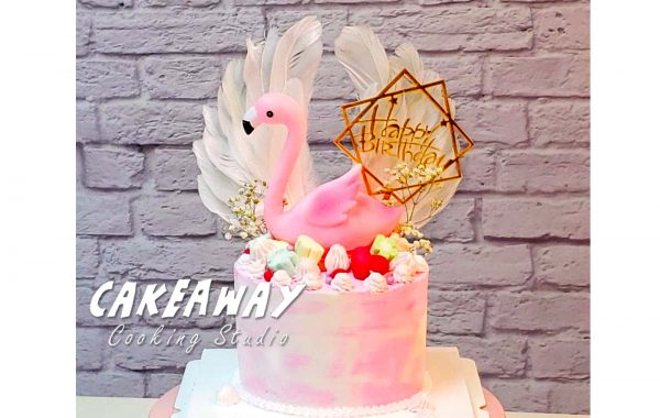 粉紅 Flamingo (單鶴)