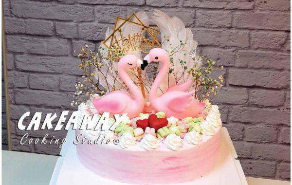 粉紅 Flamingo (雙鶴)