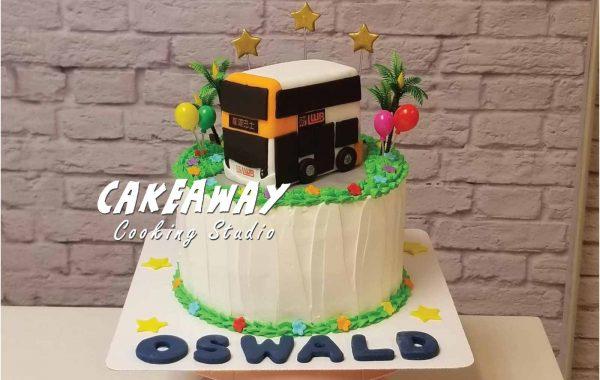 自訂巴士蛋糕