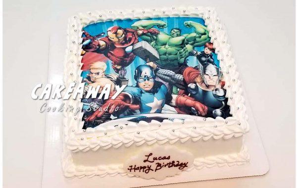 復仇者聯盟Avengers (食用打印)