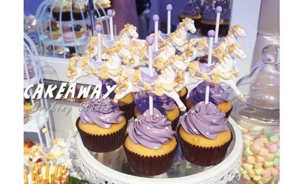 木馬Cupcake(紫)