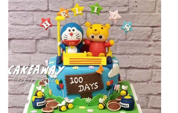 多啦A夢與Pooh BB