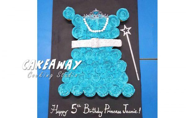 公主裙子Cupcake組合