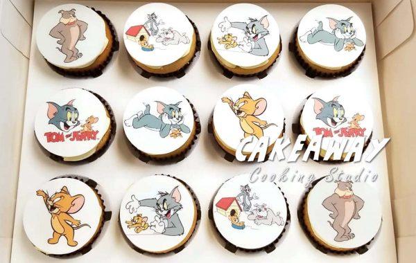 食用打印Cupcake