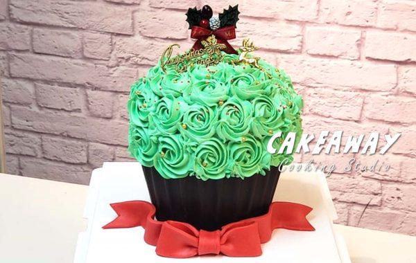 巨型Cupcake(聖誕版)