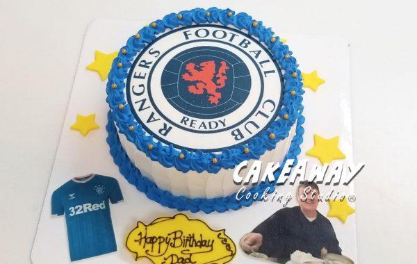 球隊Logo蛋糕