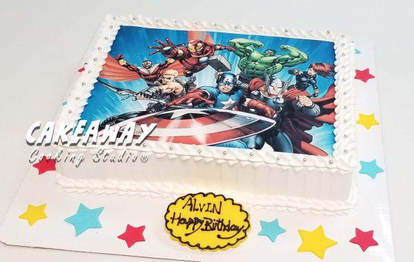 食用打印(Avengers)