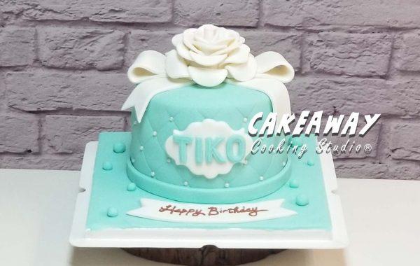 Tiffany Blue 優雅蛋糕