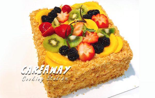 雜果拿破崙蛋糕