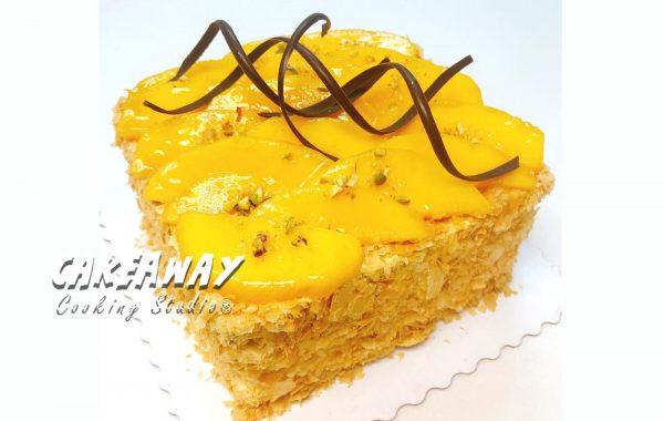 芒果拿破崙蛋糕