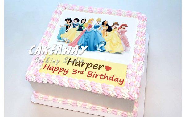 公主蛋糕(食用打印)