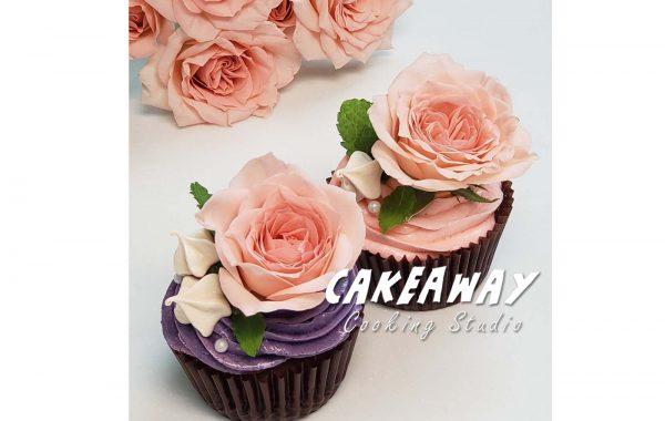 玫瑰花Cupcake