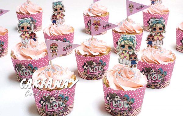 自訂主題卡通Cupcake