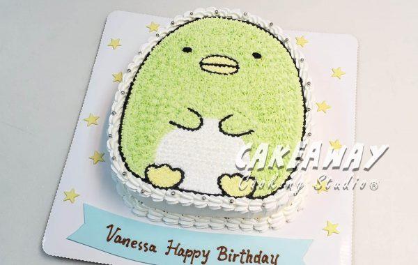 角落生物蛋糕-企鵝