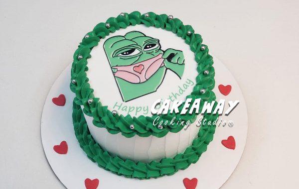 迷你PePe蛋糕 (食用打印)
