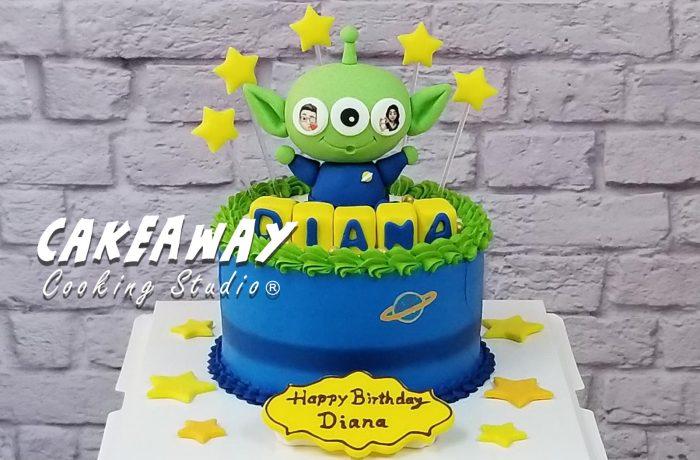 三眼仔Alien蛋糕