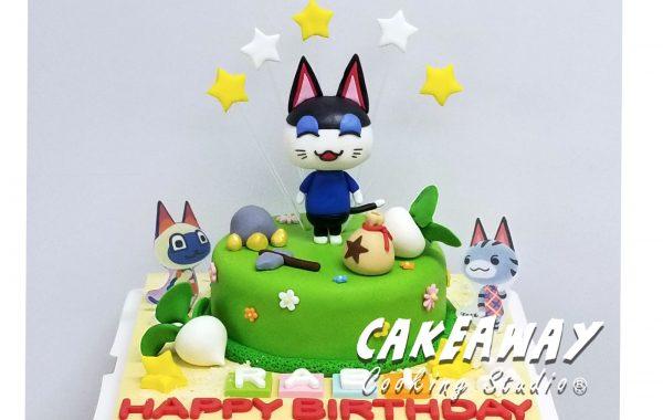 動物之森(動森)蛋糕