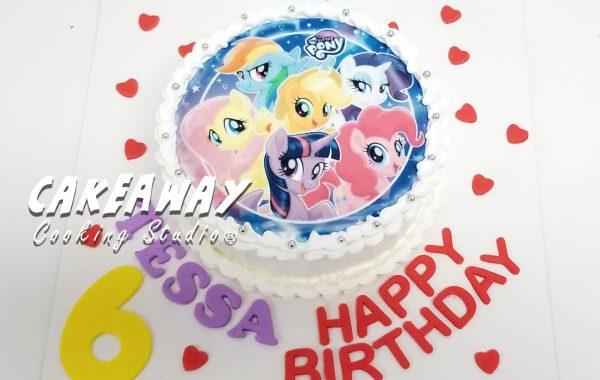Pony 蛋糕 (食用打印)