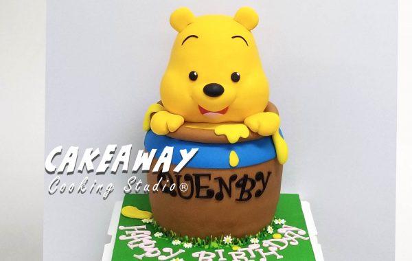 Winnie the Pooh 蛋糕